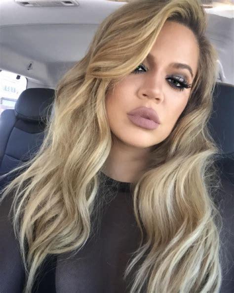 blonde bob khloe kardashian 5 all natural beauty tips khlo 233 kardashian swears by