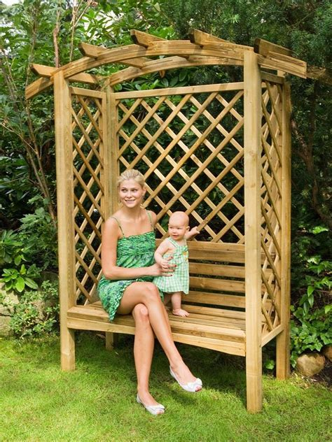 arbor with bench 45 garden arbor bench design ideas diy kits you can