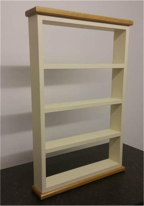 spice rack 4 shelf thorne woodworking
