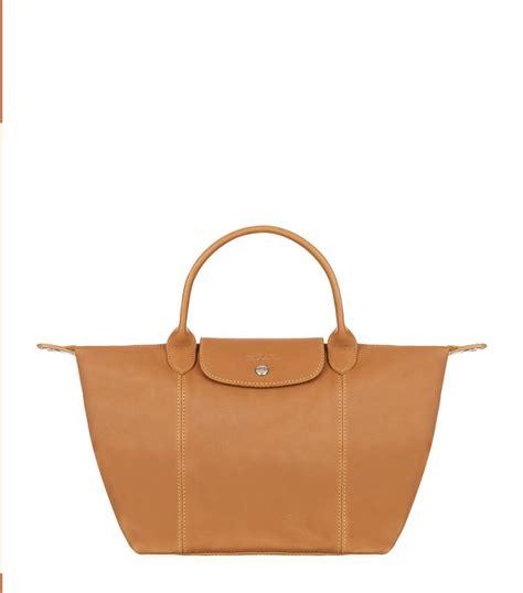 Longch Cuir Small 3 longch le pliage cuir small handbag in khaki lyst