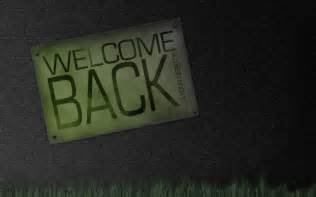 welcome back wallpapers trend and technology