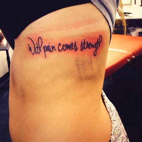 with pain comes strength tattoo 349 best images about s0m3 da on watercolors
