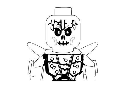 ninjago skeleton coloring page ninjago skeleton warrior coloring pages