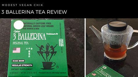 Strength Detox Tea by 3 Ballerina Herbal Tea Review Regular Strength Weight