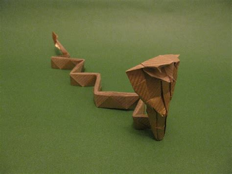 Origami Cobra - origami cobra by orimin on deviantart