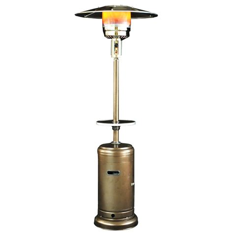 Classic Umbrella Design Portable Propane Patio Heater Golden Patio Heater