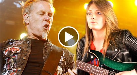 year  girl delivers metallica tribute   leave  breathless wow society
