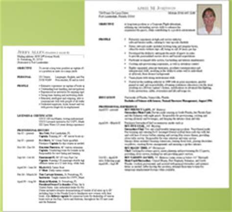 sle cv for yacht stewardess resume service crew