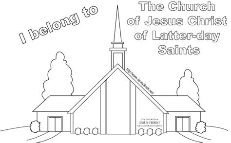 conference coloring pages lds lds meeting house jenny smith s lds ideas bookstore