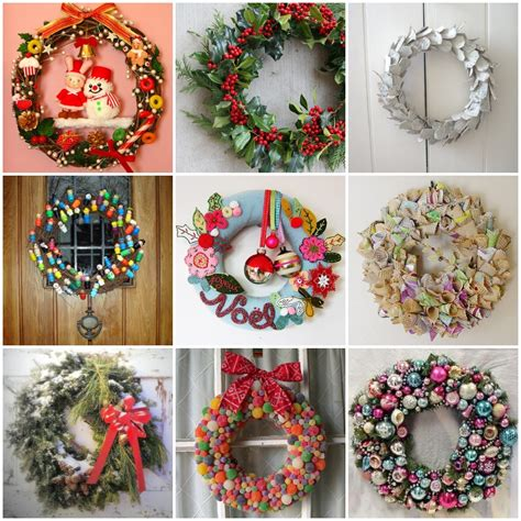 Wreath Decorations | 33 holiday wreaths door decor ideas digsdigs