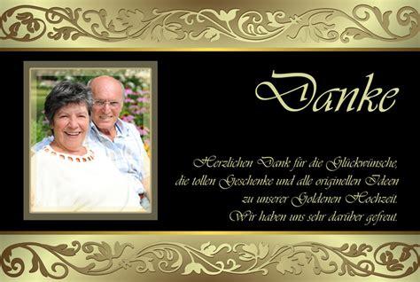 Hochzeit Danksagung by Dankeskarten Danksagungen Zur Goldenen Hochzeit