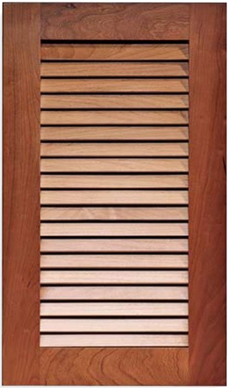 Louvered Kitchen Cabinet Doors Cabinet Doors Specialty Doors Custom Cabinet Doors