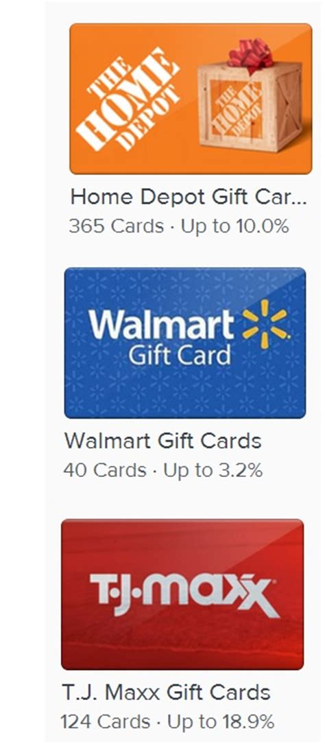 Gifts Cards Online - reduce your online arbitrage costs by up to 40