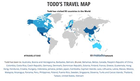 travel map where i ve been todd s travel map where i ve been visit50 travel