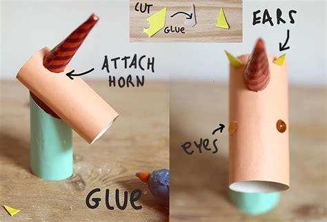 How To Make Unicorn Horn Out Of Paper - diy cardboard unicorn ring holder handmade