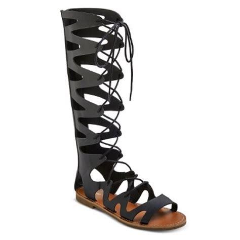 mossimo gladiator sandals mossimo supply co nwot mossimo knee high gladiator