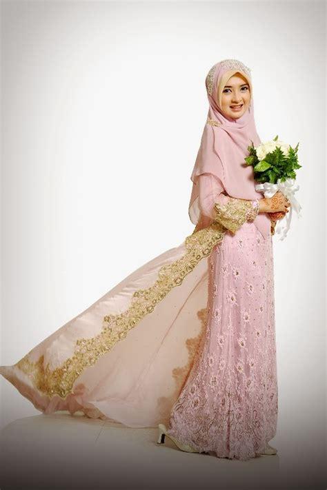 desain gaun pengantin muslimah elegan gaun pengantin muslimah paling elegan kumpulan model