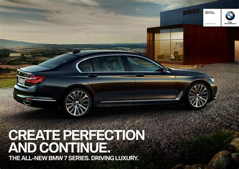 bmw ads bmw rolls out new 7 series ad caign bimmerfile