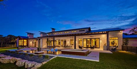 texas hill country design texas hill country modern home hill country contemporary tgbuilder