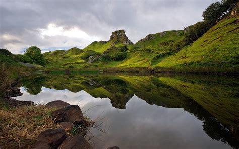 Landscape Pictures Scotland Landscape Nature Scotland Hill Reflection Uk