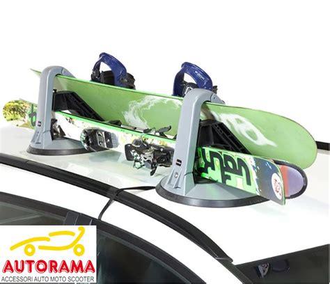 Porta Snowboard Auto by Portasci E Porta Snowboard Kolumbus Ski Board Fabbri