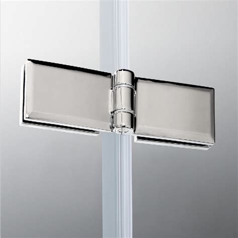 Pivot Frameless Corner Entry Shower Enclosure Cubicle Pivot Hinges For Shower Doors