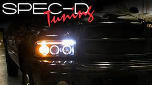 Projector Fog Lights Specdtuning Installation Video 1994 2001 Dodge Ram Head