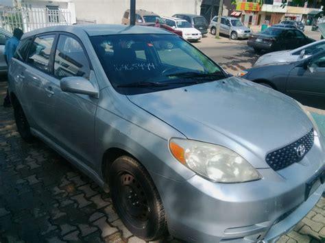 toyota matrix 2003 price in nigeria toyota matrix model 2003 price 1 4m 08038466116