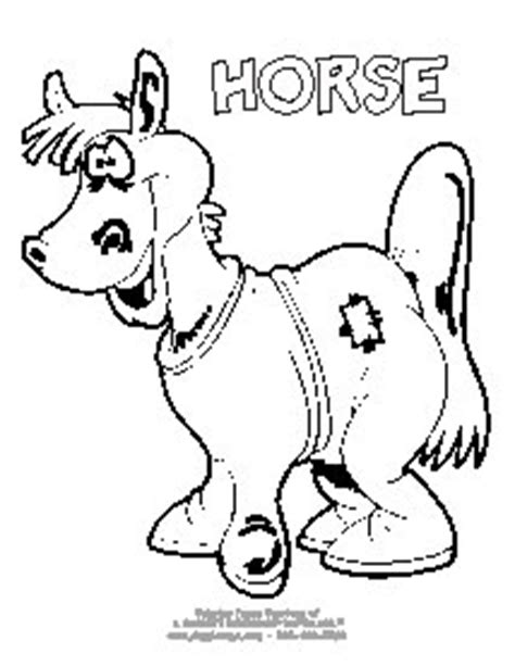 Halloween Horse Coloring Pages | halloween horse colouring pages