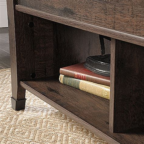 sauder carson forge lift top coffee table carson forge lift top coffee tablewashington cherr