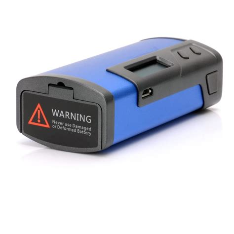 Fuchai 213 Blue 2nd authentic sigelei fuchai 213w tc vw 2 x 18650 blue apv box mod