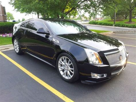 cadillac cts coupe performance buy used 2011 cadillac cts performance coupe 2 door 3 6l