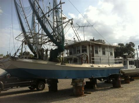 shrimp boat for sale louisiana sportsman all alluminum skimmer shrimp boat louisiana sportsman