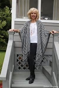 Bohemian style clothing for women over 50 fashion over 50 capes and