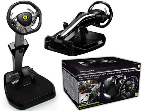 prezzo volante xbox 360 thrustmaster vibration gt cockpit 458 italia
