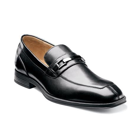 bit loafers florsheim urbane bit loafers in black for lyst