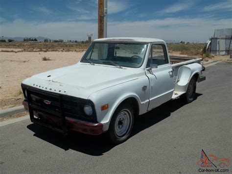 chevy truck beds 1968 c10 chevy truck stepside long bed v8 4spd