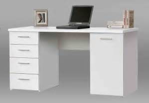 White Home Office Desks Computer Desks Desk Computer Monitor Table Desk Foot Rest Interior Designs