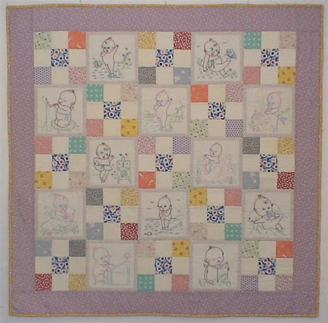 kewpie doll quilt custom memory quilts home