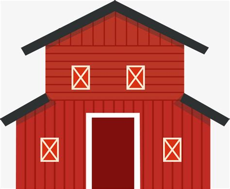 granero png red cartoon barn warehouse storage room stock png and