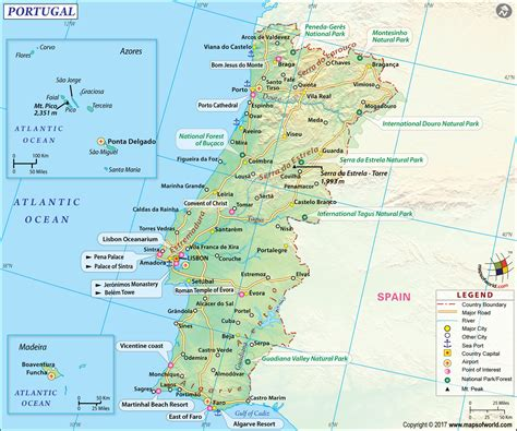 map of azores large portugal map image large portugal map hd picture