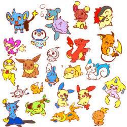 cute pok 233 mon drawings stickers telegram