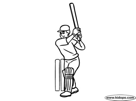 free coloring pages of cricket bats free coloring pages of cricket bats