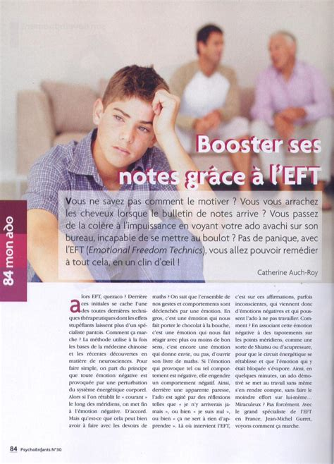 Sante Magazine Juillet 2012 Antistress Eft Techniques De Libert 233 233 Motionnelle l eft dans les medias symbiose re connexion 224 soi