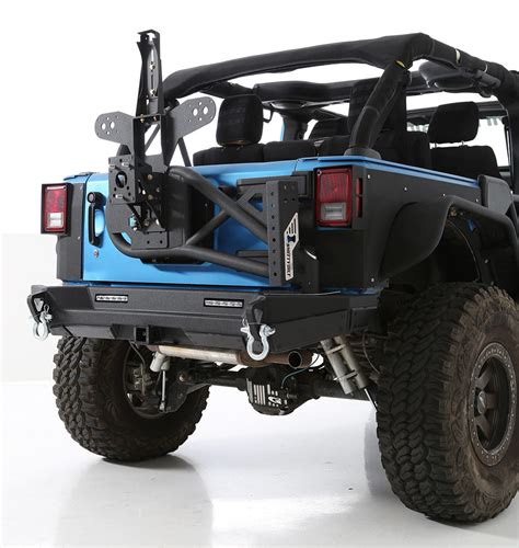 jeep yj rear bumper smittybilt xrc gen2 rear bumper for 07 17 jeep wrangler jk