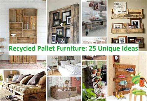 unique ideas recycled pallet furniture 25 unique ideas 99 pallets