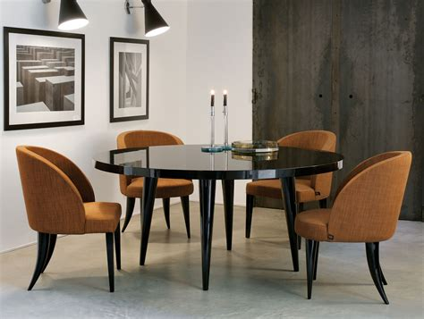 Italian Design Dining Table Nella Vetrina Modern Italian Lacquered Wood Dining Table