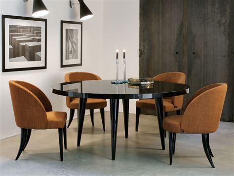 Nella Vetrina Elle Modern Italian Round Lacquered Wood