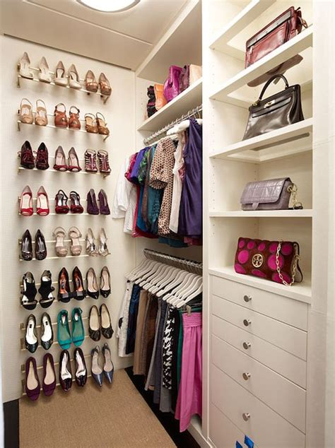 walk in closet organization ideas diy shoe wall for the home pinterest closets shoe
