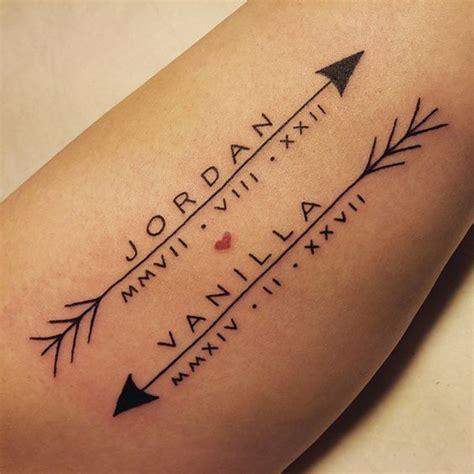name tattoo ideas nombres 1001 ideas y consejos de tatuajes para parejas